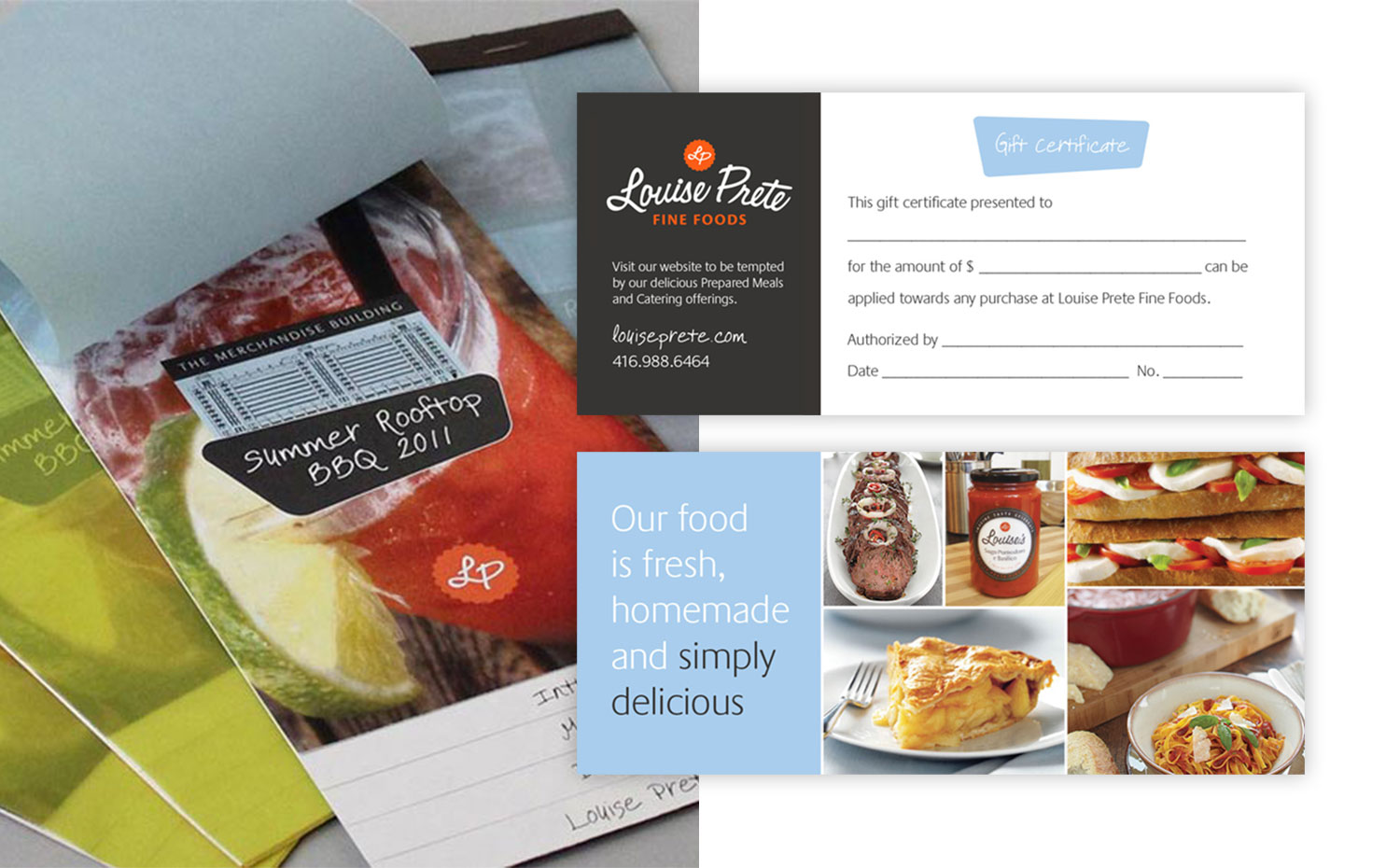 Louise Prete Fine Foods special event and promotional marketing
